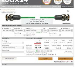 Kabelkonfigurator - Kabel einfach online bestellen!